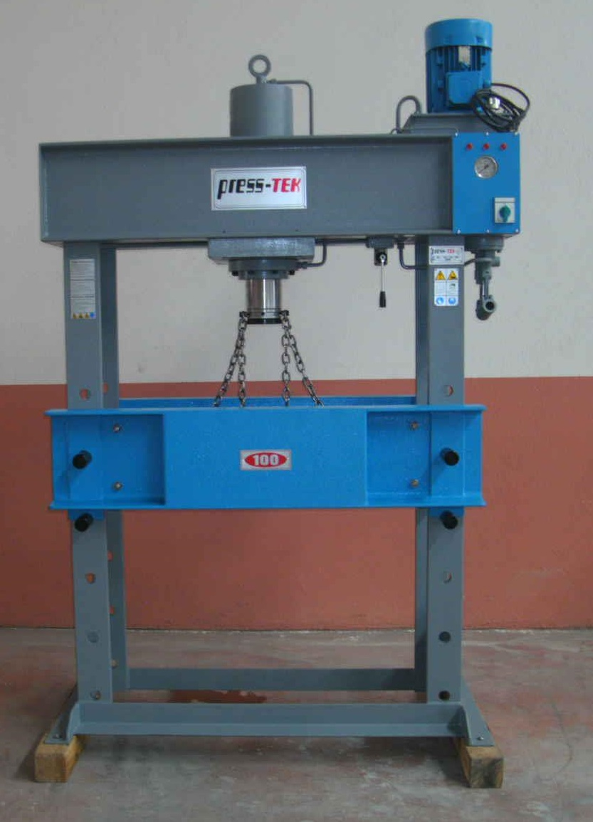 Hydraulic Workshop Press with Handle