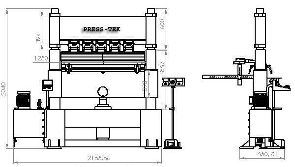 HPB120 Kombi Maschine Abkanten + Scheren + Pressen