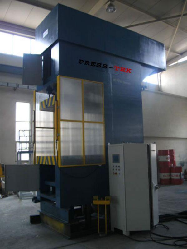 Einständer- Produktion  Presse